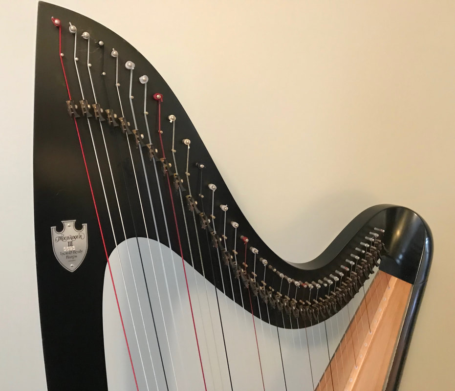 Harp Rental - Hillnote Music